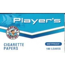 Player's Wetproof Regular Rolling Papers Pack