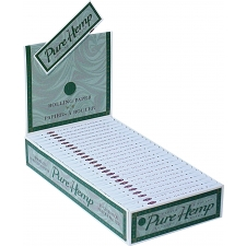 Pure Hemp 1 1/4 Rolling Papers 79mm Box of 25 packs