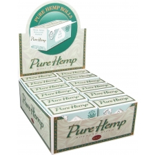 Pure Hemp Rolling Papers Roll Box Box (24 Packs)