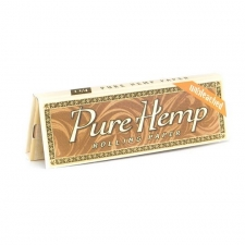 Pure Hemp 1 1/4 Unbleached 79mm Rolling Papers