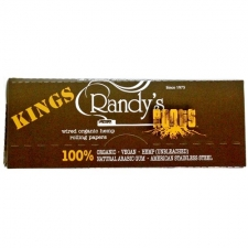 Randy's Wired Roots King Size Hemp Rolling Papers 110mm Pack