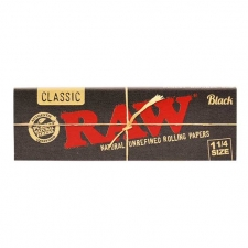 Raw Black 79mm Rolling Papers
