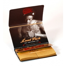 Raw Classic Wiz Khalifa 1 1/4 Artesano 79mm Rolling Papers with Tips and Tray Pack