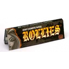 Rollies Hemp 1 ¼ Rolling Papers 79mm Pack