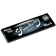 Smoking Black King Size 110mm Rolling Papers