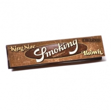 Smoking Brown King Size 110mm Rolling Papers