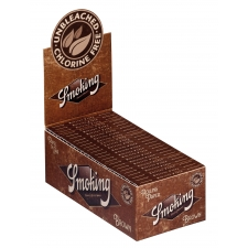 Smoking Brown Single Width 70mm Rolling Papers Box (50 Packs)
