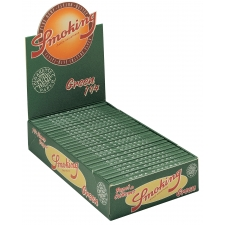 Smoking Green 1 1/4 79mm Papers Box (50 Packs)