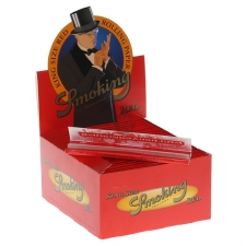 Smoking Red King Size 110mm Rolling Papers Box of 50 Pack