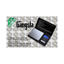 K2 Gangsta Digital Scale Stainless Steel Platform 650g x 0.1g