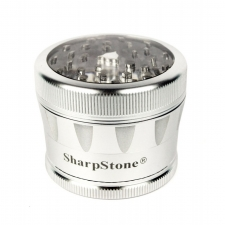 SharpStone 4 Piece Version 2.0 Grinder Pollinator w/ Clear Top 2.2 Inch - SS VC22