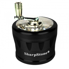 Sharpstone 2.0 Crank Grinder Clear Top 2.5 Inch