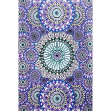 3D Ring Of Water by G Scott B Tapestry - BedSheet 30X45