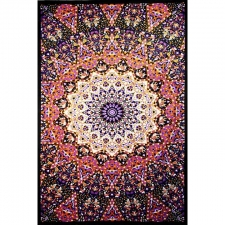 Glow in the Dark India Star Tapestry - BedSheet 60x90