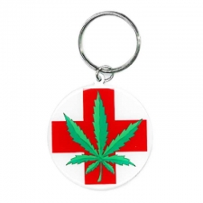 Medical Marijuana Keychain