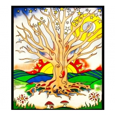 Twilight Tree of Life Tapestry - BedSheet 85x100