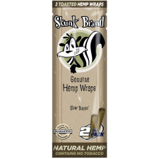 Skunk Brand Genuine Hemp Wraps - 2 per Pack