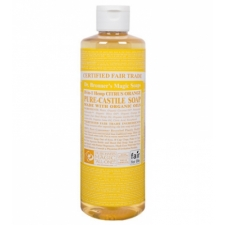 Dr. Bronner's All-in-one Hemp Citrus-Orange Liquid 237ml Pure-castile Soap