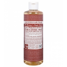 Dr. Bronner's All-in-one Hemp Eucalyptus Liquid 473ml Pure-castile Soap