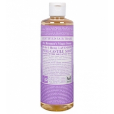 Dr. Bronner's All-in-one Hemp Lavender Liquid 473ml Pure-castile Soap