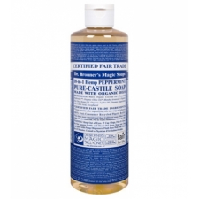 Dr. Bronner's All-in-one Hemp Peppermint Liquid 473ml Pure-castile Soap