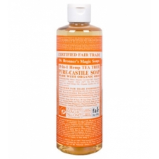 Dr. Bronner's All-in-one Hemp Tea Tree Liquid 237ml Pure-castile Soap