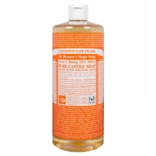 Dr. Bronner's All-in-one Hemp Tea Tree Liquid 473ml Pure-castile Soap