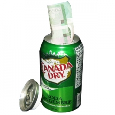 Canada Dry Ginger Stash Can and Safe Box