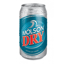 Molson Dry Stash Can and Safe Box