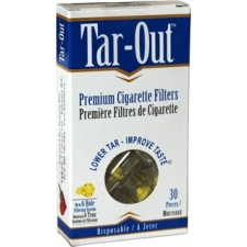 TAR-OUT Premium Cigarette Filters - Laboratory Tested - 30 Pieces per Pack