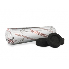 Three Kings Quick Light 40mm Charcoal Roll - 10 pieces