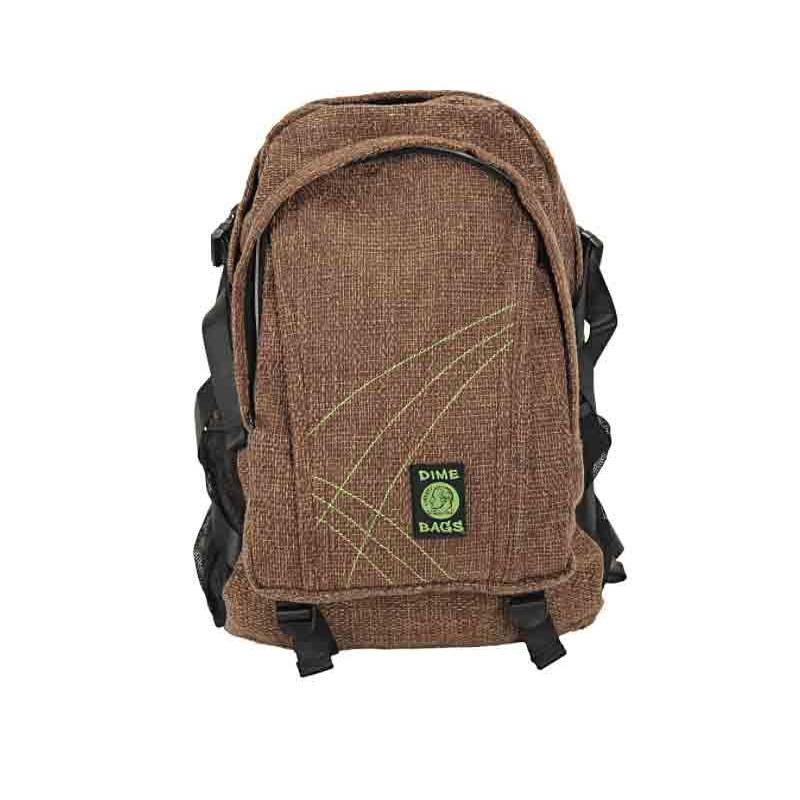 Hemp Study Buddy Backpack With One Secret Pocket By Dime Bags