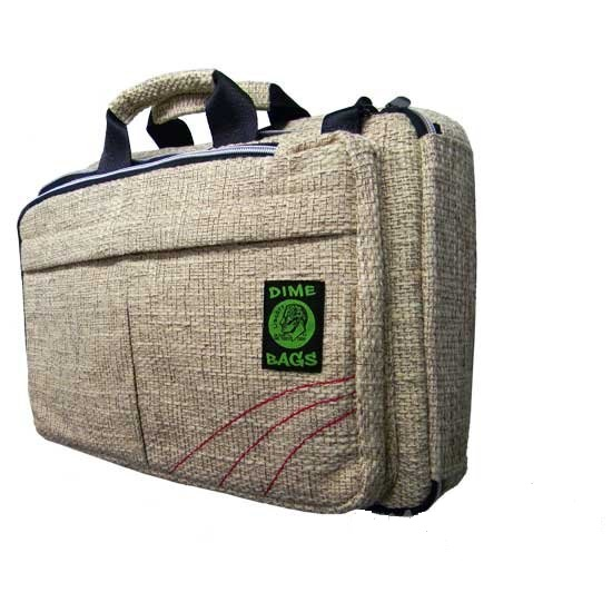 Hemp Rollies Computer Bag Removable Shoulder Strap Or Backpack By Dime