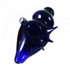 4 Inch Seashell Glass Handpipe A-7075