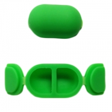 The Butterfly Super Slick Non-Stick 3ml Medical Grade Silicone Container from Buddies