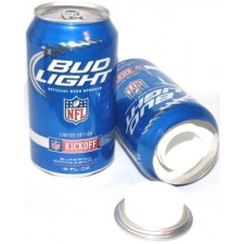Bud Light NFL Stash Can and Safe Box