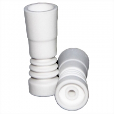 Ceramic Domeless Female Nail Fit on 14mm and 19mm Male Joint