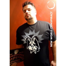 Baphomet Men's T-Shirt from New World Conspiracy