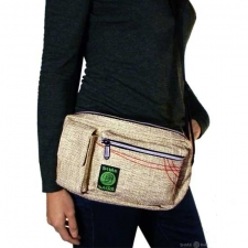 Hemp Busy Buzz Shoulder Bag by Dime Bags