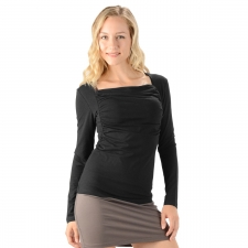 Women's Bamboo Gathered Top -- Eco-Essentials