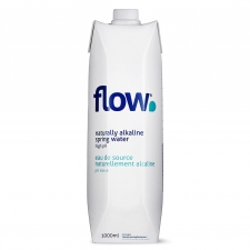 Flow Naturally Alkaline Water 1L Bottle