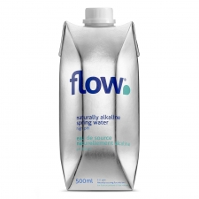 Flow Naturally Alkaline Water 500ml Bottle - case of 12