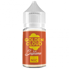 Golden Cloud -- Supreme -- Nicotine Salt E-Liquid -- 30ml
