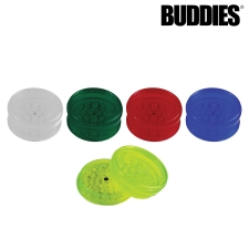 Buddies 2 piece Plastic Grinder with Magnet and Storage