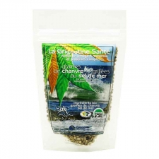 Sea Salt Organic Roasted Hemp Seeds 90g