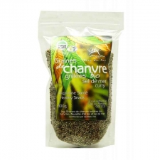 Sea Salt and Curry Organic Roasted Hemp Seeds 600g