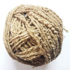 Rough Handmade Unpolished Nepalese Hemp Twine Ball - 200ft - 48lb tested