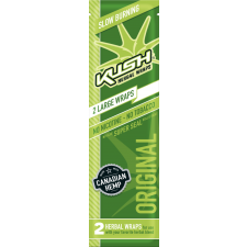 Kush Hemp Wraps Original - 2 per Pack