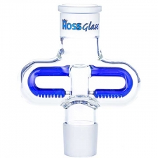 Hoss Glass Middle Section Double Sided Inline Percolator YH908
