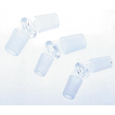 Hoss Glass Angle Male to Male Adaptor available in 30 or 45 Degree YX28